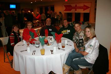 Club members Jenny Kampf, Carol Renteria, Pete Renteria, Joe Kampf and Joe and Jenny's daughter and son-in-law